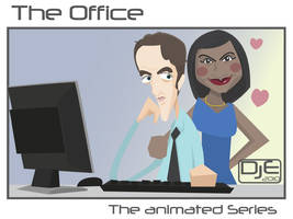 The Office - Ryan and Kelly by johnnymartini