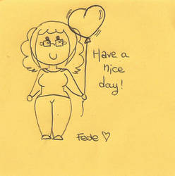 Have a nice day by AllyStrixia1989