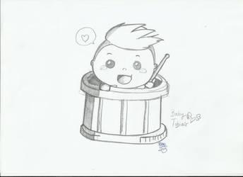 Baby Tobias Mertens by AllyStrixia1989