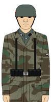 Waffen-SS Fallschirmjager Soldier