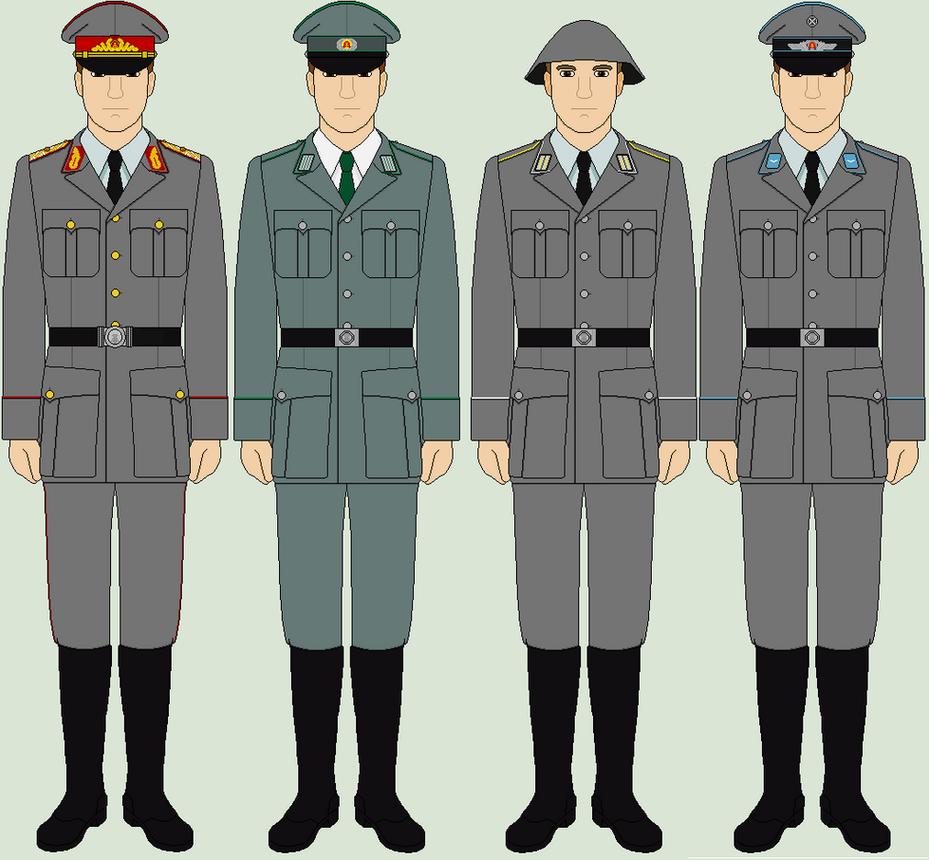 east german combat uniform