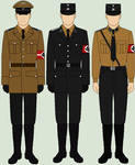 Selection of National Socialist Uniforms
