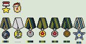 Socialist Indonesia Republic Medals