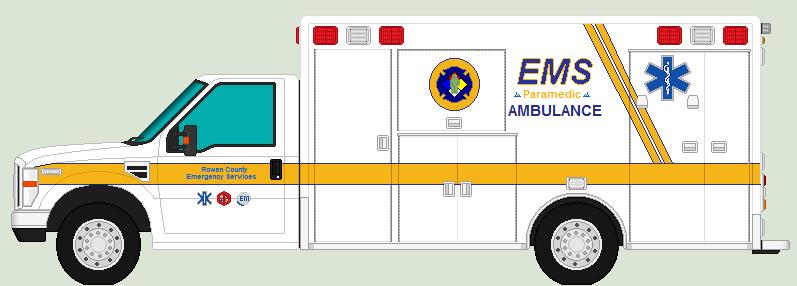 Rowan County EMS Ambulance by Luke27262 on DeviantArt