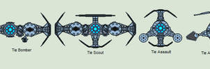 Star Wars - Tharion Empire TIEs by Luke27262