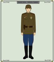 Soviet Union - Infantry Captain by Luke27262