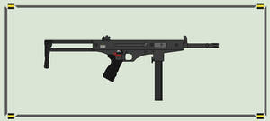 American Islamic Empire - M-L6 Submachine Gun