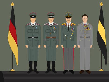 Carolina Confederacy - 15th Bundeswehr Anniversary