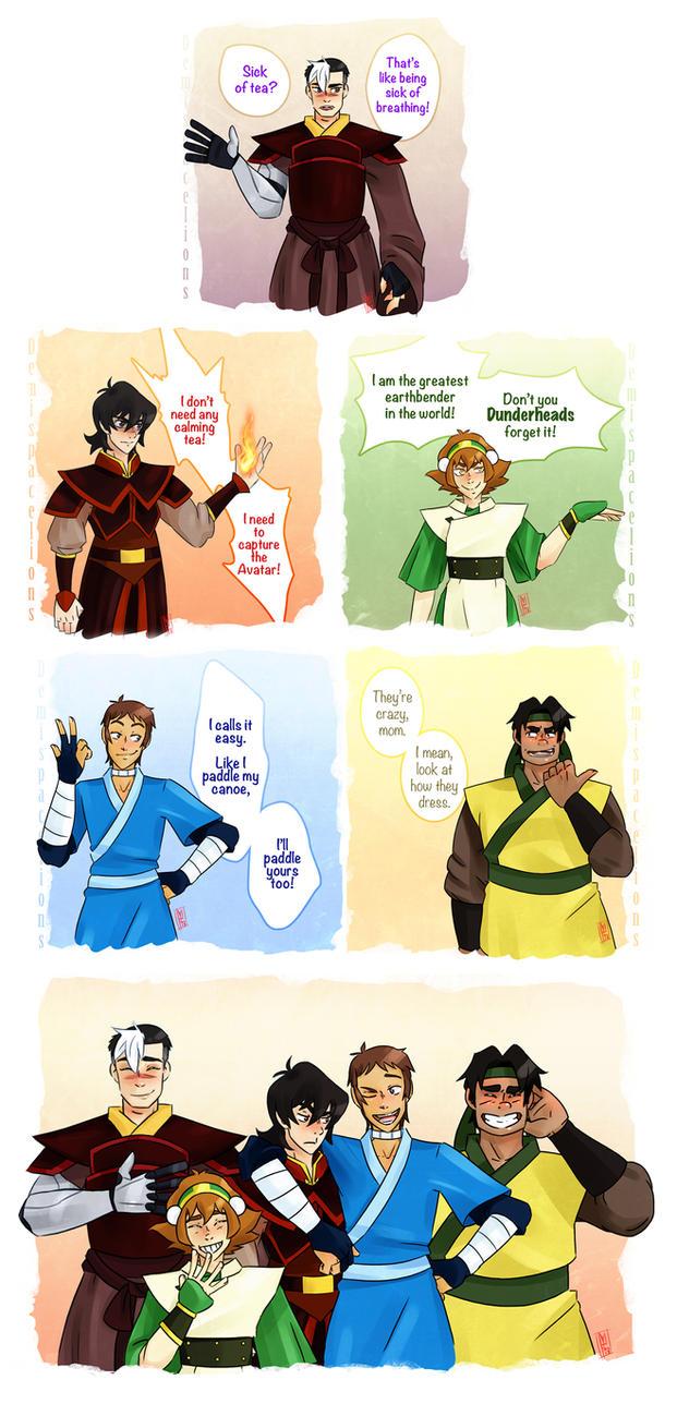 Voltron x Avatar by book-sage