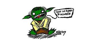 Yoda -paint-