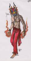 Diablo danzante