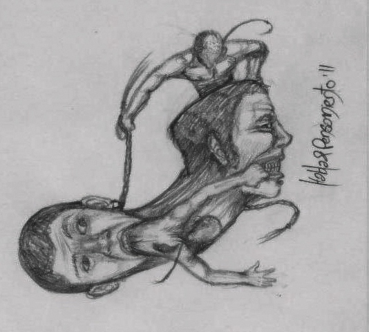 Habla y pensamiento sketch