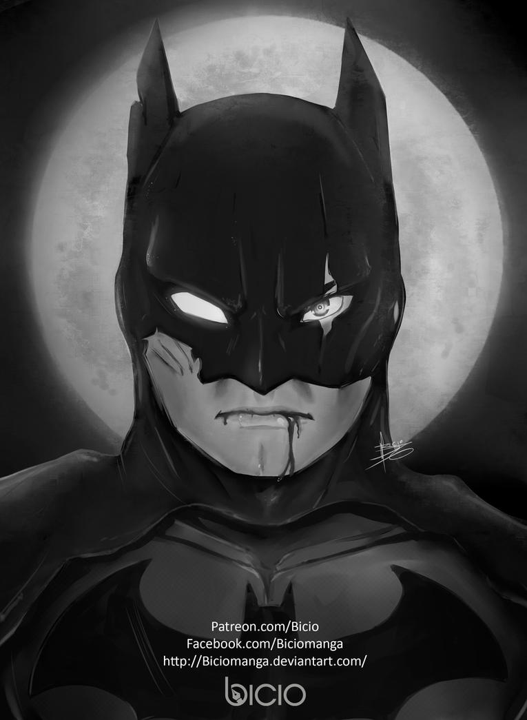 I am Batman by Biciomanga