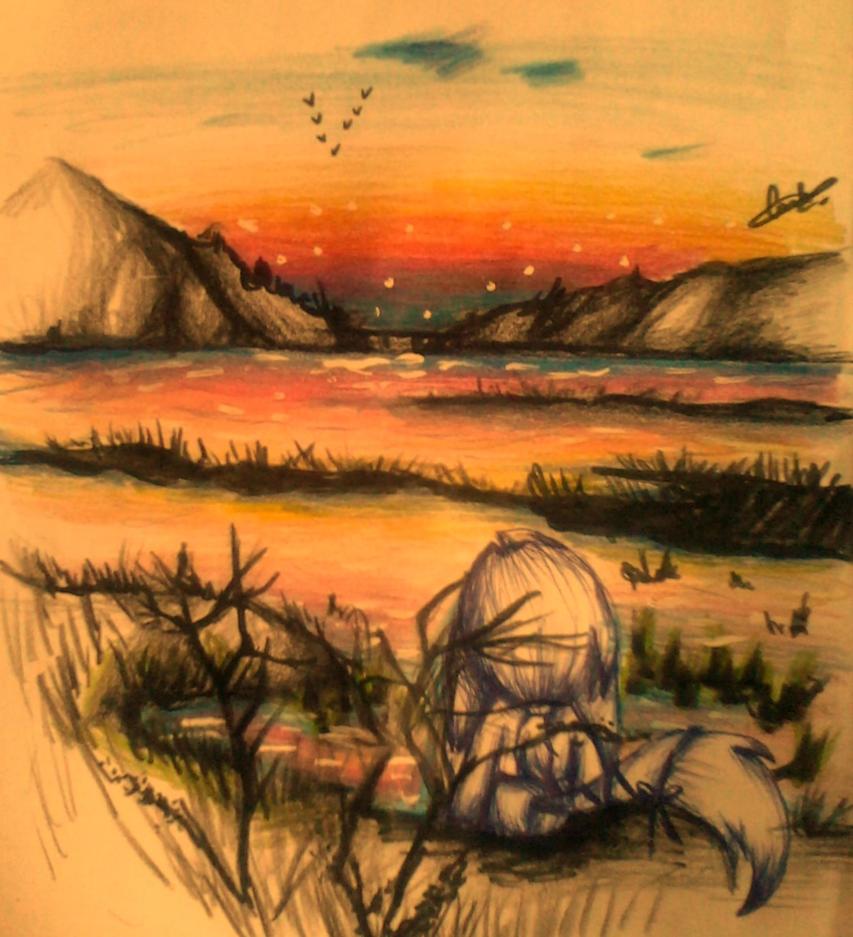 otro paisaje  :v by Dark-Terios