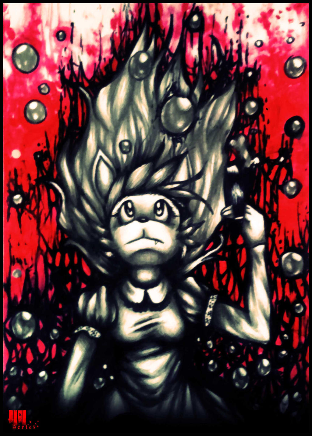 Birth Pains of Astral Projection by Dark-Terios