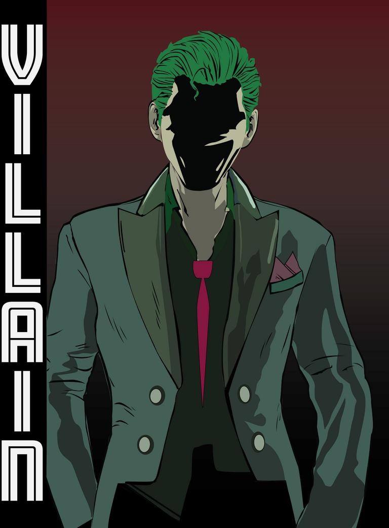Joker The Villain by VelvetR0s3