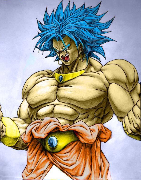Broly-Dragon Ball Z by xDarkFighterx