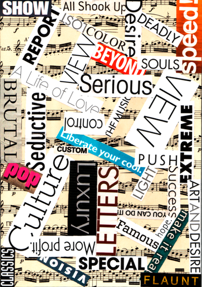 typography collage by prosaxplayer on deviantart