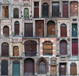 Door of Gdansk by ladycornicula
