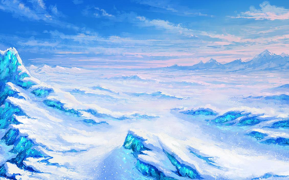 [Lago Congelado] Ais Turquoise Arctic_desert_by_anekashu-d6tzyzh