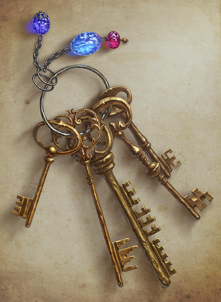 Keys by AnekaShu