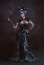 witch by AnekaShu