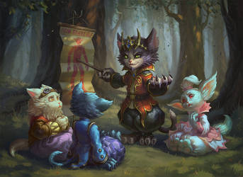 cats by AnekaShu