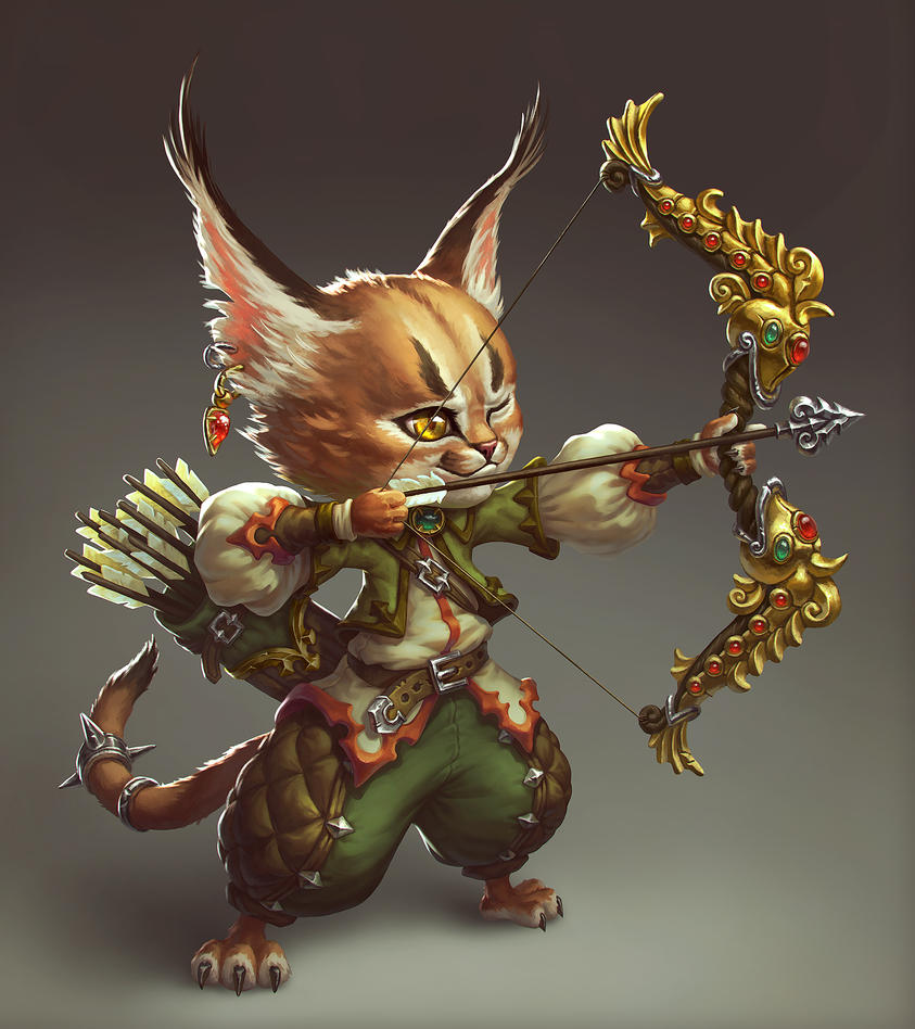 Archer Caracal by AnekaShu