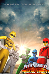 Power Rangers Primal Spirits Poster