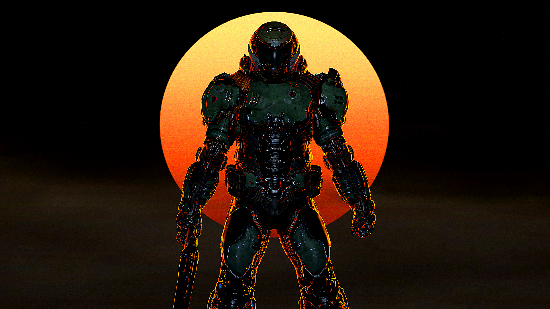 The Doom Slayer By Theglassemperor On Deviantart