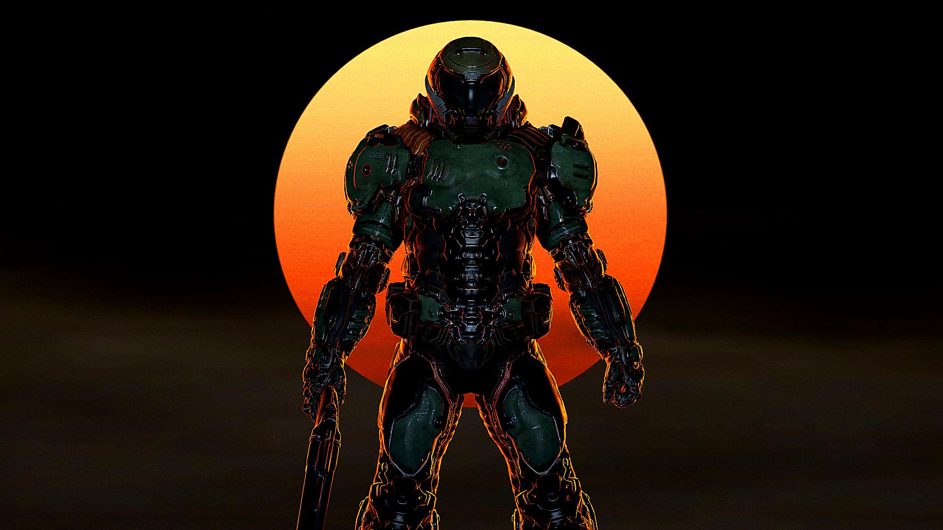 The Doom Slayer By Theglassemperor On Deviantart