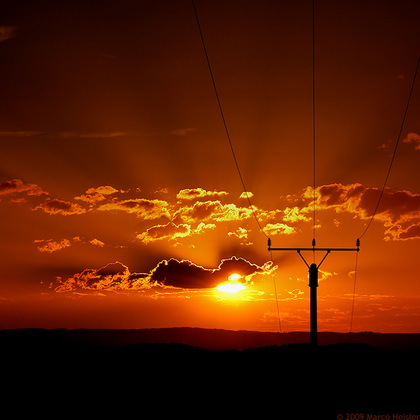 Electric Sun by MarcoHeisler