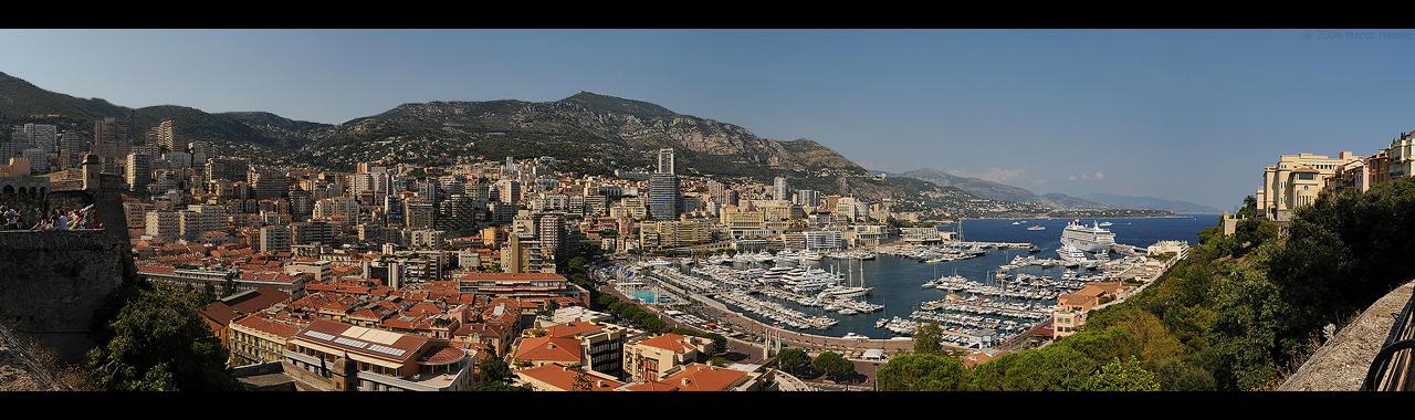 Monaco Panorama II by MarcoHeisler