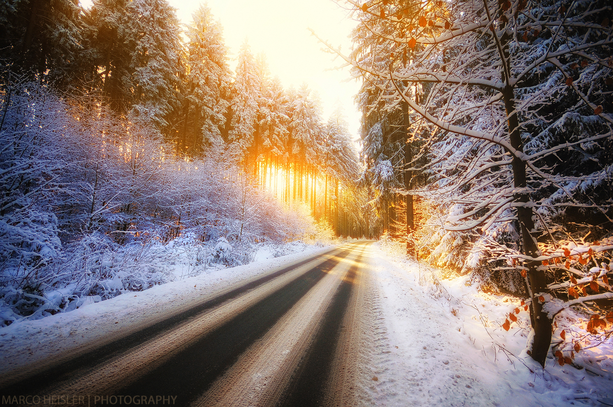 Winterglow by MarcoHeisler