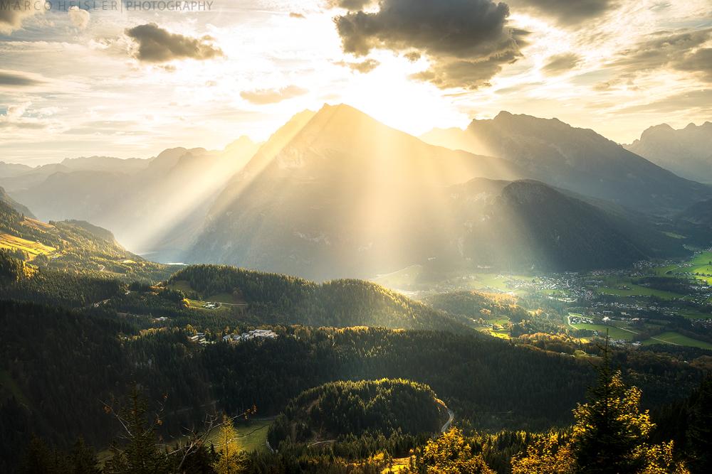 Berchtesgaden Sunset by MarcoHeisler