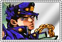 JJBA Stamp - Jotaro Kujo by SilverKazeNinja