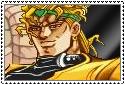JJBA Stamp - Dio Brando by SilverKazeNinja
