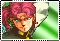 JJBA Stamp - Noriaki Kakyoin by SilverKazeNinja