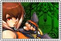BlazBlue - Makoto Nanaya Stamp by SilverKazeNinja