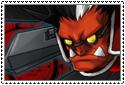 BlazBlue - Iron Tager Stamp by SilverKazeNinja