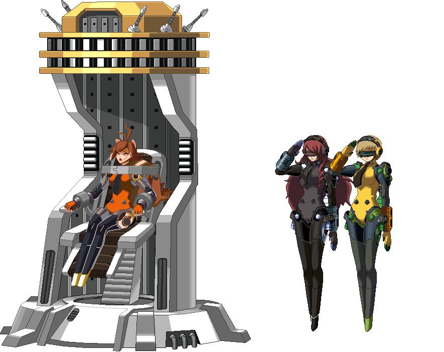 Assw Conversion Makoto Nanaya Roboticized By Silverkazeninja On