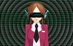 MMD - Robot Conversion hypnosis visor