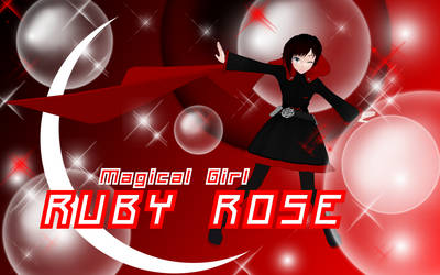 Magical Girl Ruby Rose by SilverKazeNinja