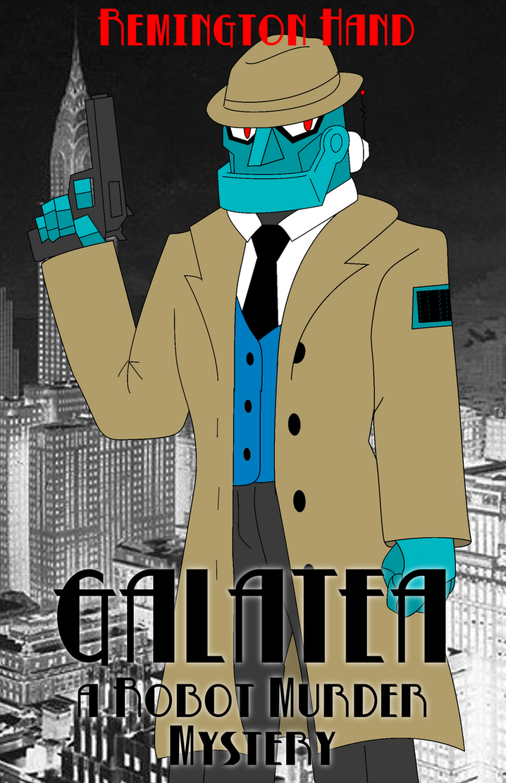 Galatea: A Robot Murder Mystery - Cover by SilverKazeNinja