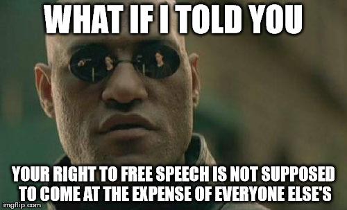 Morpheus - Free Speech by SilverKazeNinja