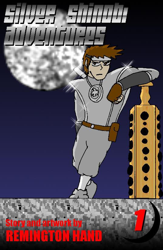 Silver Shinobi Adventures CHAPTER 1 COVER