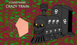JJBA Stand Concept - Crazy Train by SilverKazeNinja