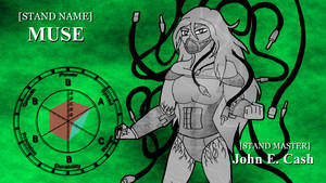JJBA OC Stand - Muse by SilverKazeNinja