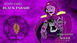 JJBA OC STAND COMM - BLACK PARADE