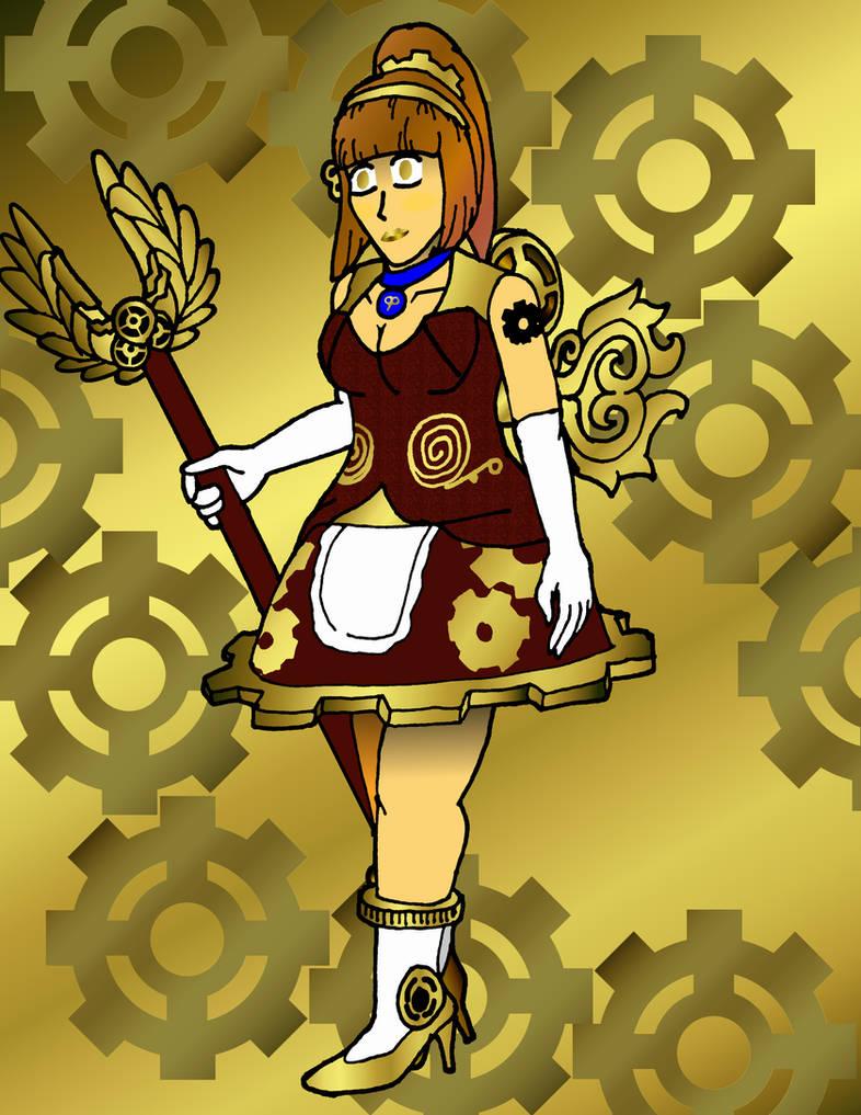 Gift Art - Clockwork Princess Gear Girl